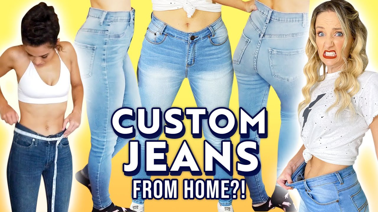 We Try CUSTOM MADE Jeans *Is It Worth It?*