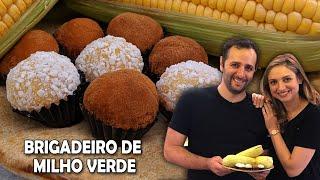 Como fazer brigadeiro de milho verde