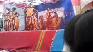 Pivla chokha gamit song Shree Rang Navchetan Mahila Arts College, valia