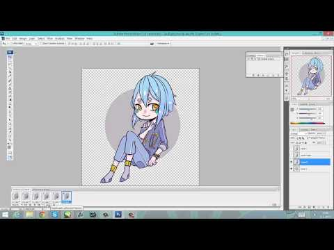 How To Make an Animated GIF drawing