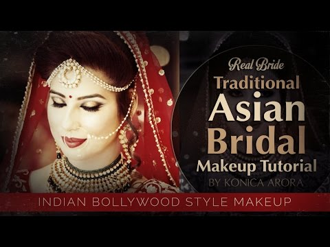 Traditional Asian Bridal Makeup of Real Bride 2017 | Step by Step India Bollywood Style Royal Makeup