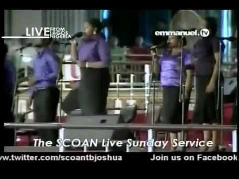 Jesus, You Can Do Anything - EMMANUEL Singers - SCOAN