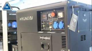 Генератор Hyundai DHY6000se смотреть