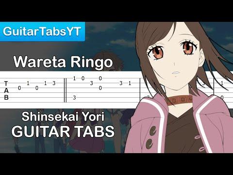 Shinsekai Yori (From the New World) - Wareta Ringo Ending [Guitar Tutorial] + TABS