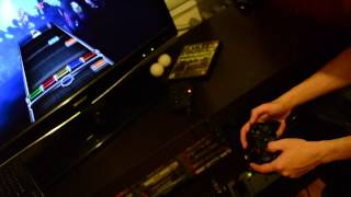 PS3 controller used as Rock Band 3 keyboard [like Amplitude]
