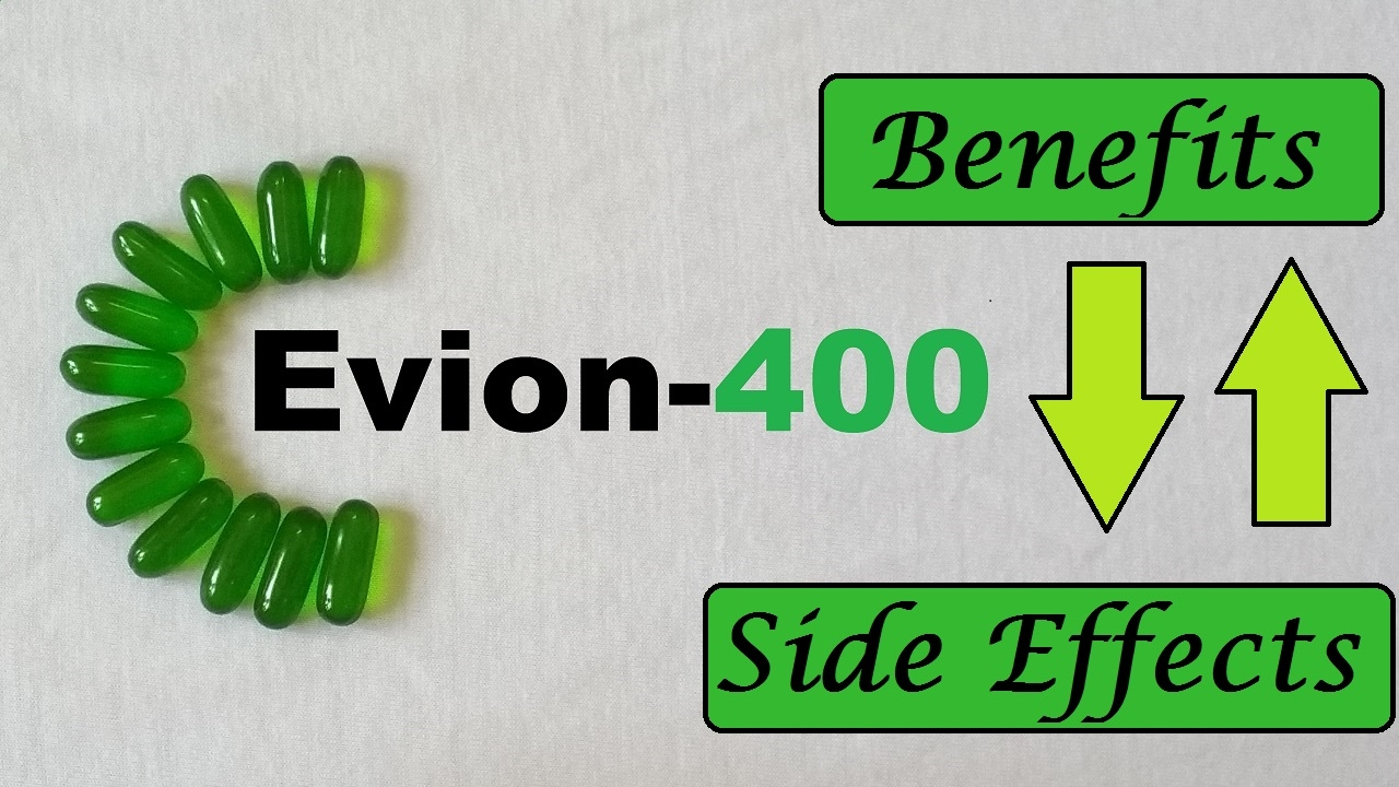 Vitamin E capsules. Its effect on the body 45