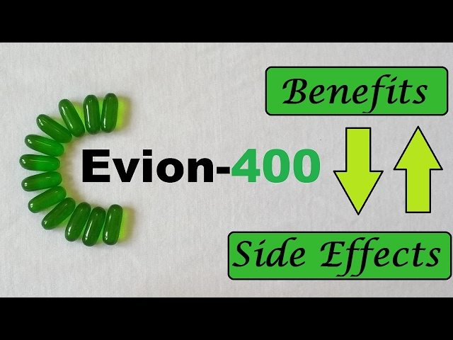 Evion 400 : Side Effects Vitamin E Capsules