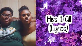 Suk3y - Miss It All (Lyrics)