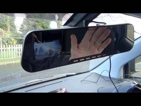 yi mirror dash cam dual dashboard camera. Black Bedroom Furniture Sets. Home Design Ideas