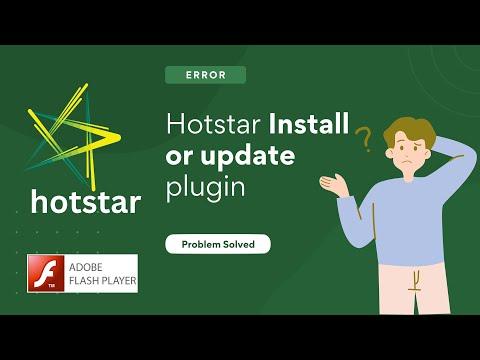 Hotstar Adobe Flash Player [Update or Download] Problem Solved | Mohit Bahl