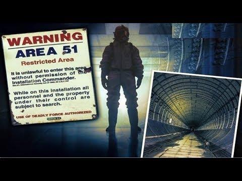 Как устроен секретный подземный город под Зоной 51 (+2 видео)