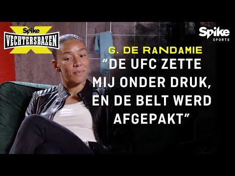 """""""MIJN BELT WERD AFGEPAKT DOOR DE UFC� - SPIKE X VECHTERSBAZEN GERMAINE DE RANDAMIE #8"""