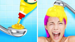 BEST OF CRAZY PRANKS TO HAVE FUN WITH YOUR FRIENDS    Boys vs Girls, Pranks On Friends, Funny Ideas