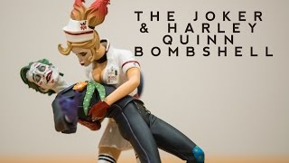 Unboxing The Joker and Harley Quinn Bombshell Statue