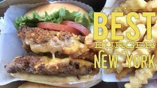 Best Burger New York: Shake Shack Madison Square Park Shack Stack by HourPhilippines.com