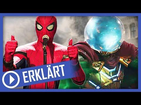 Spider-Man 2: Post-Credit-Scene und mysteriöse Rückkehr! | Far From Home