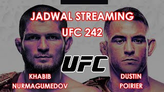 Jadwal Pertandingan UFC 242, Khabib Nurmagomedov Vs Dustin Poirier