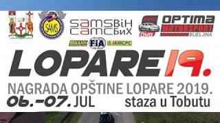 Lopare - Brdske auto trke 2019 - kolaž