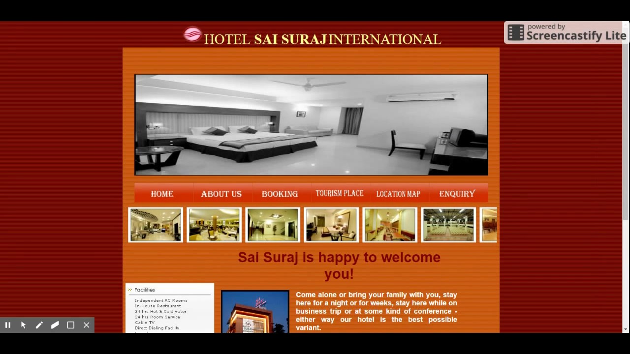 online hotel reservation system php project