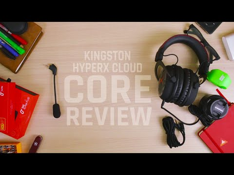 Best Gaming Headset for $80? Kingston HyperX Cloud Core