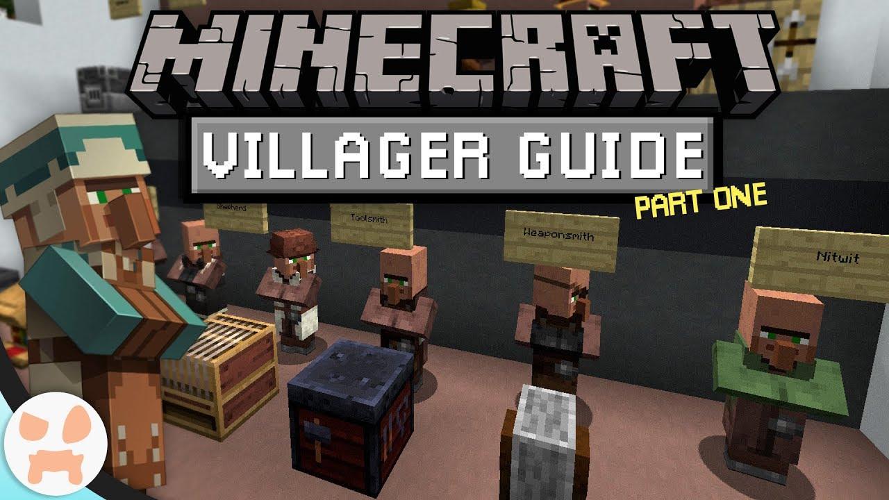 VILLAGER BASICS!  The Minecraft 122.1224 Villager Guide - Episode 122