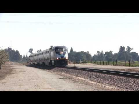 Amtrak San Joquin in Madera County
