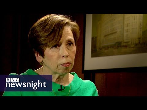 BBC's Fran Unsworth on gender and pay - BBC Newsnight