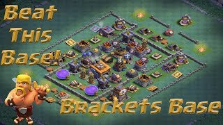 CoC BH8 - How To Beat This Base - Brackets/R2D2 Base