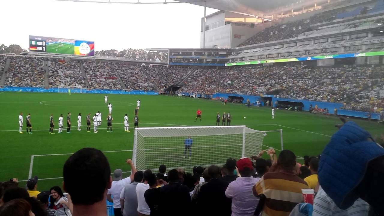 5a2924aa81ca4 Olimpiadas 2016 Nigeria x Alemanha Arena Corinthians - YouTube