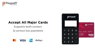 Unveiling the all-new mpos card reader to manage all your payments with ease.