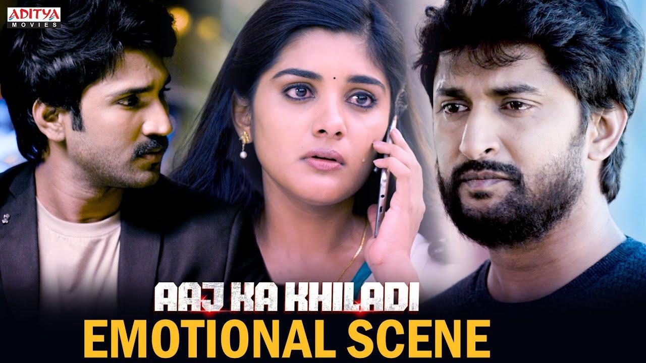 Download Aaj Ka Khiladi Movie || Emotional Scene B/W Nani & NivethaThomas  ||Adhi Pinisetty || Aditya movies