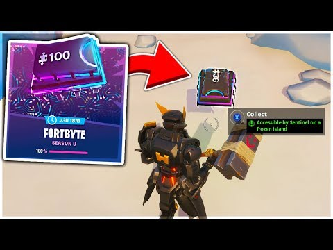 How To Do ALL FORTBYTE CHALLENGES and HOW THEY WORK in Fortnite Season 9!