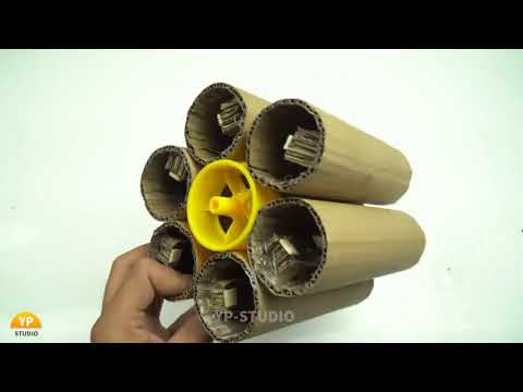 How to Make DIY Cardboard Gun (Batman DIY Projects)