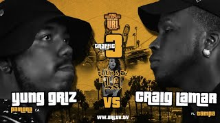 CRAIG LAMAR VS YUNG GRIZ SMACK/ URL RAP BATTLE | URLTV