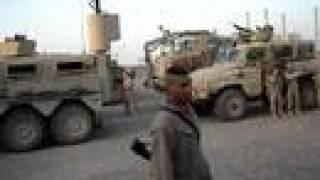 US Marines vs US Army in Camp Fallujah, Iraq 2/7 Golf Company