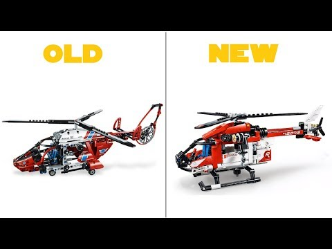 lego technic 2019 42092 rescue helicopter official hd. Black Bedroom Furniture Sets. Home Design Ideas