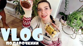 ОТМЕЧАЕМ С СЕМЬЁЙ И ОБМЕНИВАЕМСЯ ПОДАРКАМИ👨👩👧👧🎁🎄/VLOG/ 01.01.19