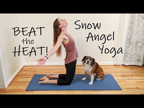Snow Angel Yoga Flow