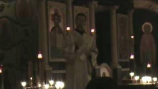 Festal Vespers, St. Philip Orthodox Church, Souderton PA - Deacon Herman Homily, Part 7