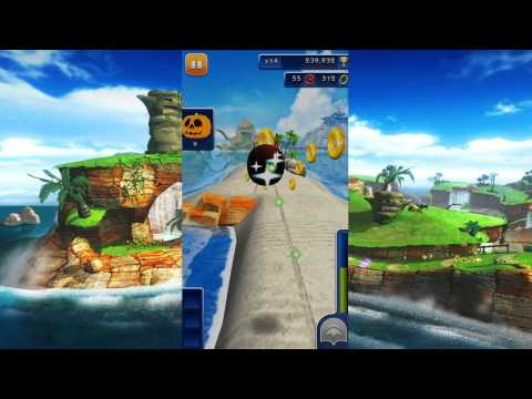 Sonic Dash (Android): Halloween Special Event Unlock (Shadow Gameplay)