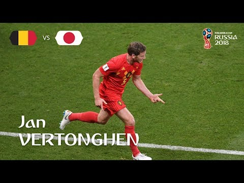 Jan VERTONGHEN Goal – Belgium v Japan – MATCH 54