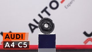 Montering Fjädersäte AUDI A3 Sportback (8PA): gratis video