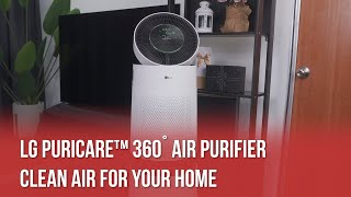 LG PuriCare™ 360º Air Purifier: Breathe Fresh, Stay Fresh