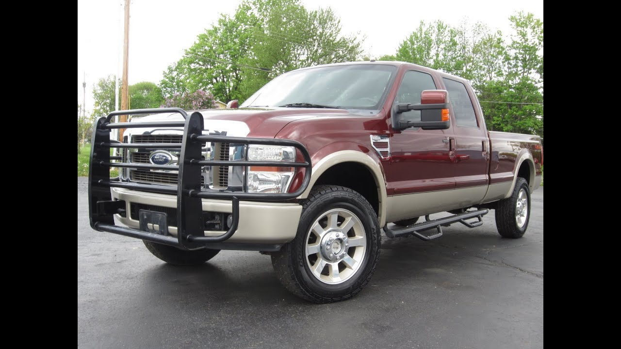 2008 Ford F350 King Ranch 4x4 6.4L POWERSTROKE LONGBED ...