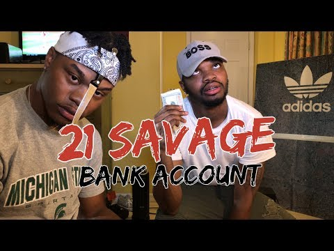 21 Savage - Bank Account - REACTION