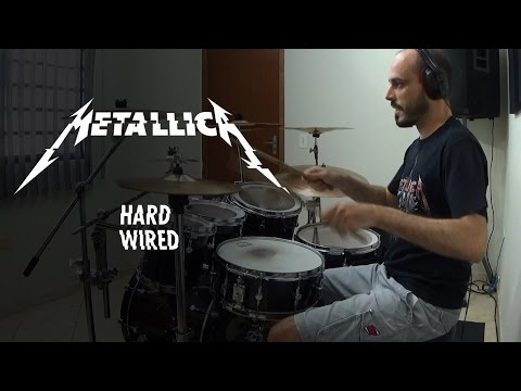 Hardwired drum cover - Metallica   by Adriano Natal