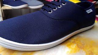 Обзор обуви! Мокасины синего цвета