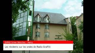 Les résidents de la maison de retraite Simon Bénichou sur Radio Graffiti (11/09/2018)
