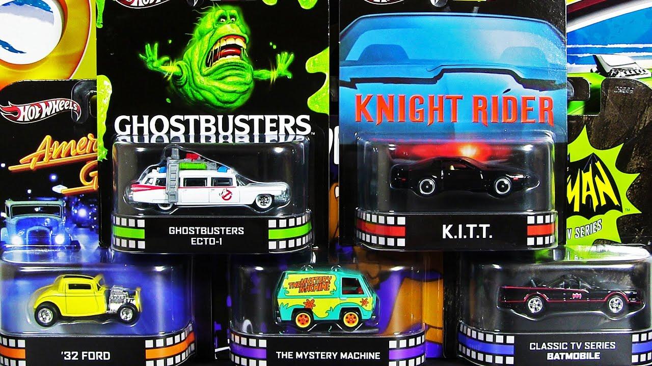 American Graffiti Cars Wallpaper 2013 Hot Wheels Cars Retro Entertainment Kitt Ecto 1