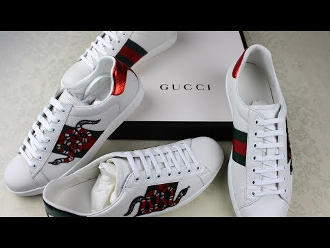 bd689999ccd60 Gucci Ace Sneakers Legit Check   Authentic vs Replica Gucci Review Guide